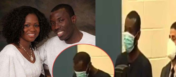 Check video of Ghanaian pastor who killed his wife in the US appearing in court