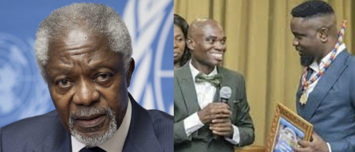 Kofi Annan attended Dr UN's fake water bottle first ever awards in 2014 – Isaac Rockson reveals