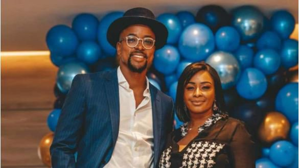 """""""I couldn't be more proud of you""""- Maps Maponyane to Boity"""