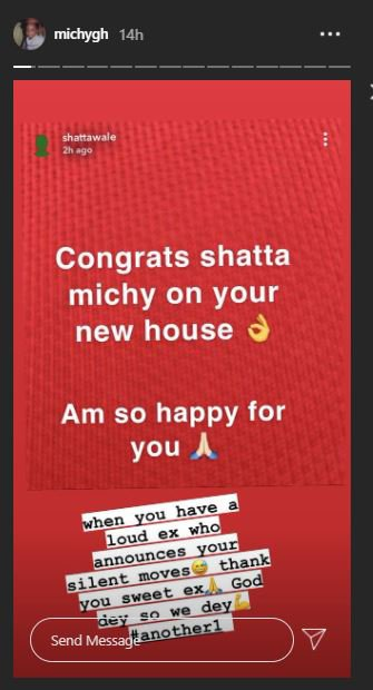 Michy comes for Shatta Wale after his congratulatory message