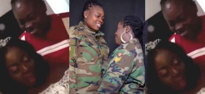 Military lesbian couple who got married has been detained and facing court-martial