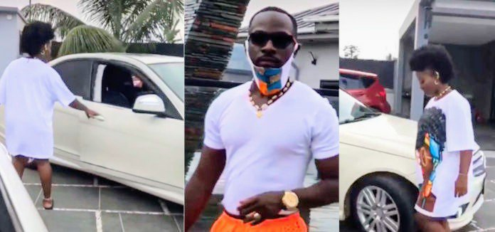 Okyeame Kwame for the first time flaunts mansion and cars