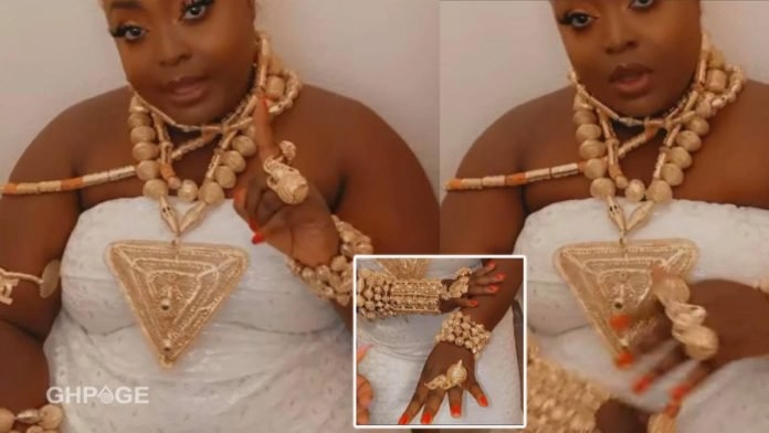 Beautiful traditional wedding video of Ghanaian actresss Roselyn Ngissah