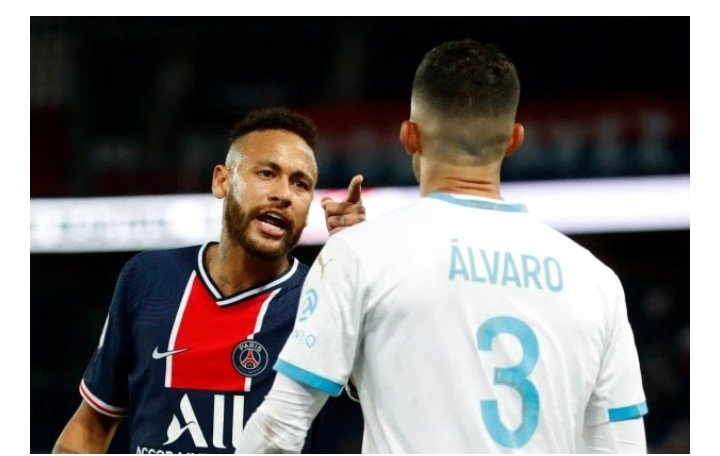 PSG star, Neymar 'faces seven game ban' for punching Marseille defender Alvaro Gonzalez amid racism row
