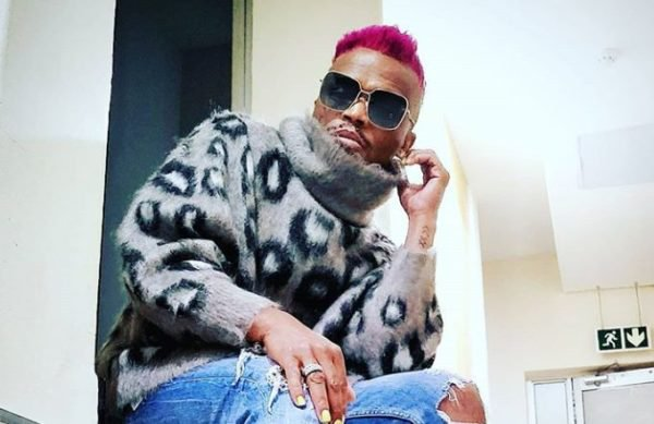 Somizi's daughter amused at her father's outfit to an event