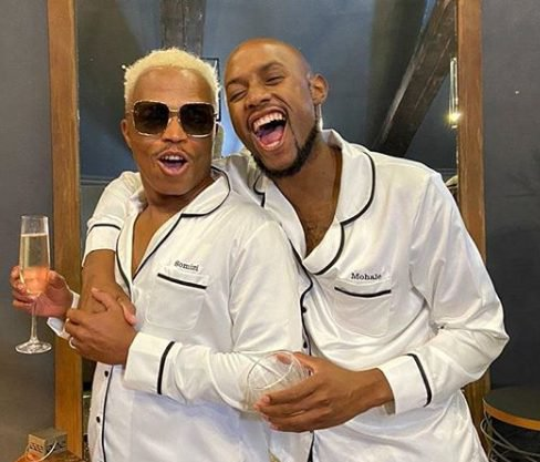 Photo: Somizi and Mohale on 'baecation'