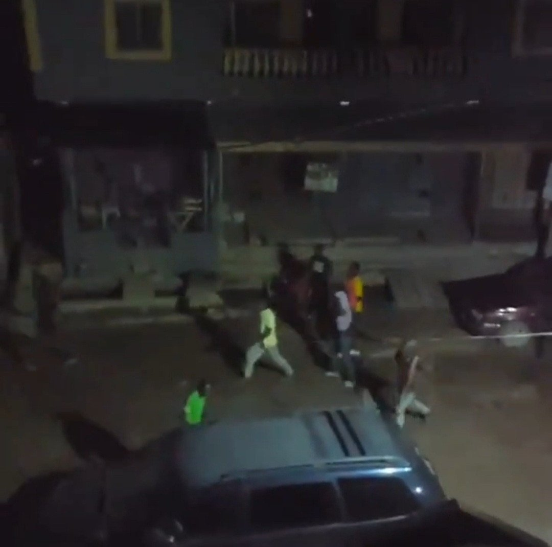 Cultists Clash In Ebutte Metta Leaving One Dead And Several Cars Destroyed (Photos/Video)