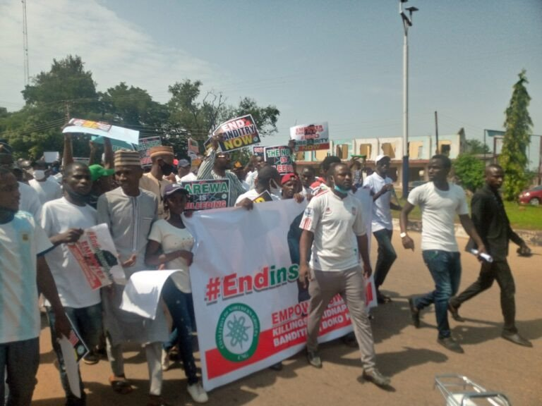 Northern Youths Stages Protest Against Insecurity