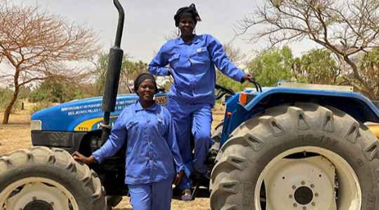 WONDER WOMEN! In Chad, Female Tractor Drivers And Electricians Do What Men Can Do Even Better