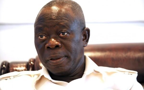 Oshiomhole Begs Ortom to Settle N10bn Libel Suit Out of Court