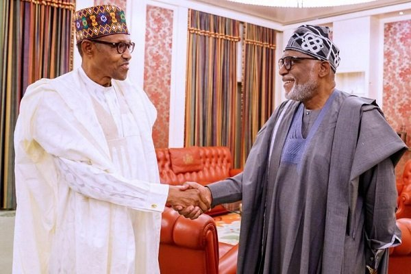 How Buhari Reacted After INEC Declared Akeredolu Winner Of Ondo Election