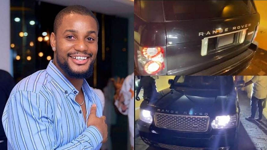 Nollywood Actor Alex Ekubo Gets A Range Rover SUV Gift From Friend