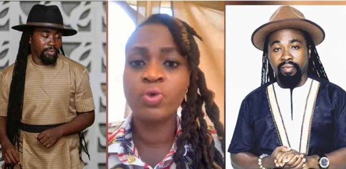 Ayisha Modi replied back at Obrafour after he threatened to take legal action against her