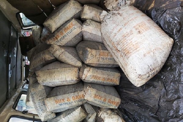 Drama As Sacks Of Diesel Are Found Hidden Inside A Beer Truck In Rivers