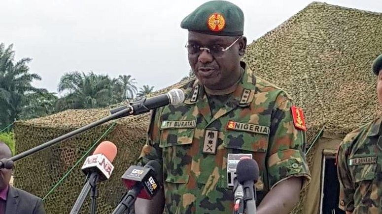 #EndSARS: Buratai, Nigerian Army Under Fire After Threatening Protesters