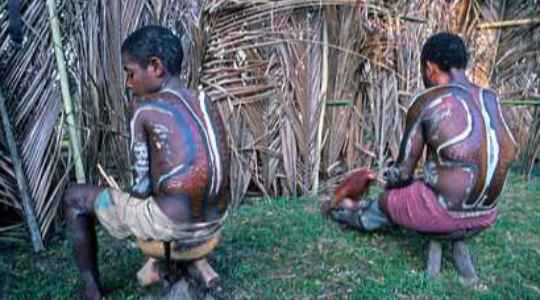 NO GENDER ROLES!! See This Tribe In Papua New Guinea Where They Have No Gender Roles, See Why!