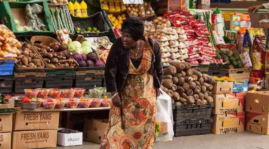 LONDON'S LITTLE LAGOS! In This UK Town, Nigerians Buy & Sell Anything From Elubo To Fresh Stockfish