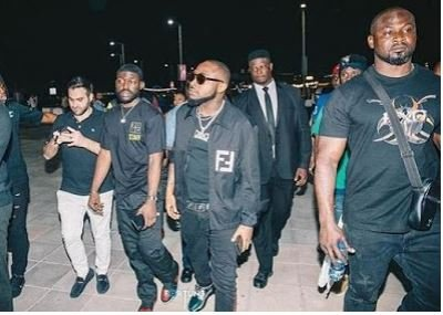 Davido Accused Of Beating Up A Bouncer Till He Started Bleeding