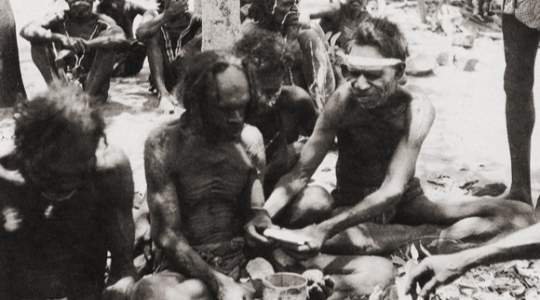 EAT YOUR PENI$!! See This Tribe Where Young Men Eat A Part Of Their Peni$ To Show That They Are Men!