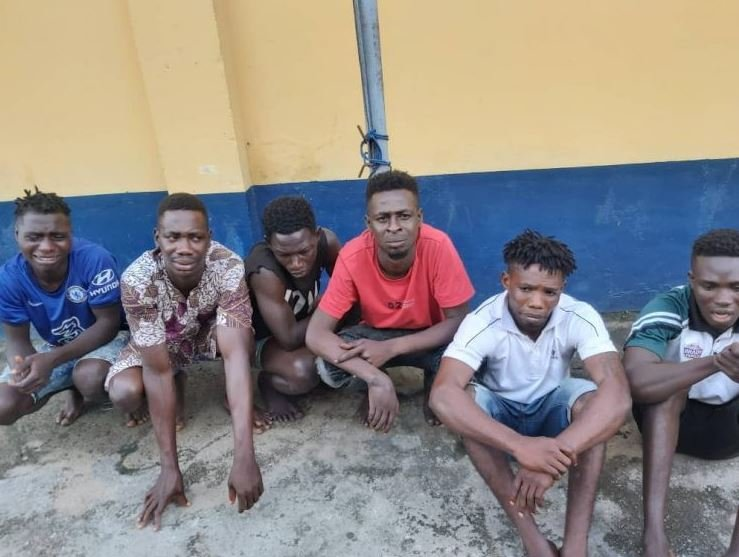 Police Arrests Six Suspects In Connection With Ebutte Meta Attack (Photo)