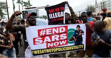 Drama As #EndSWAT Protesters Storm National Assembly Complex In Abuja