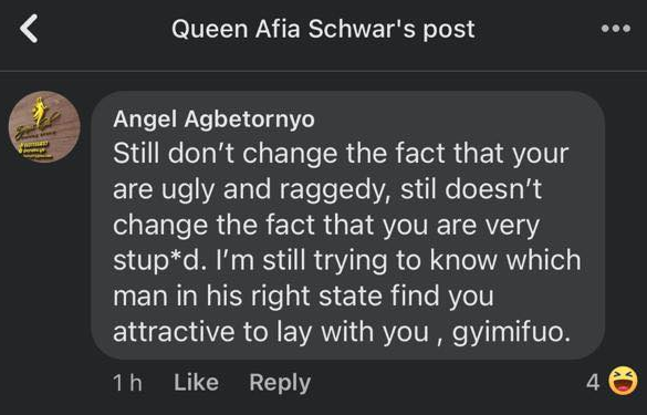 Ghanaians came for Afia Schwar after she made fun of Prof. Naana Opoku's make-up