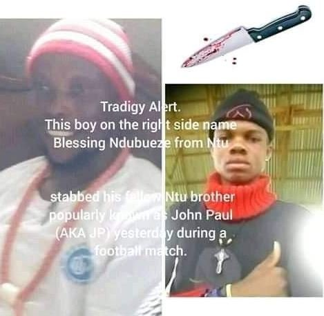 15-year-old Boy Stabs Man To Death During Football Match In Imo