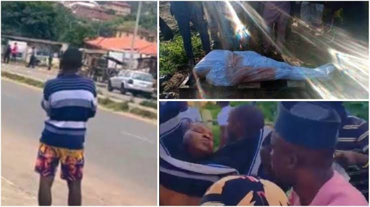 Heartbreaking Video Of Jimoh Isiaq's Family Calling For Justice After He Was Shot Dead At #EndSARS Protest