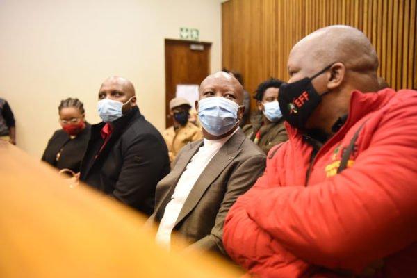 Court delay trial of Julius Malema, Mbuyiseni Ndlozi assault case