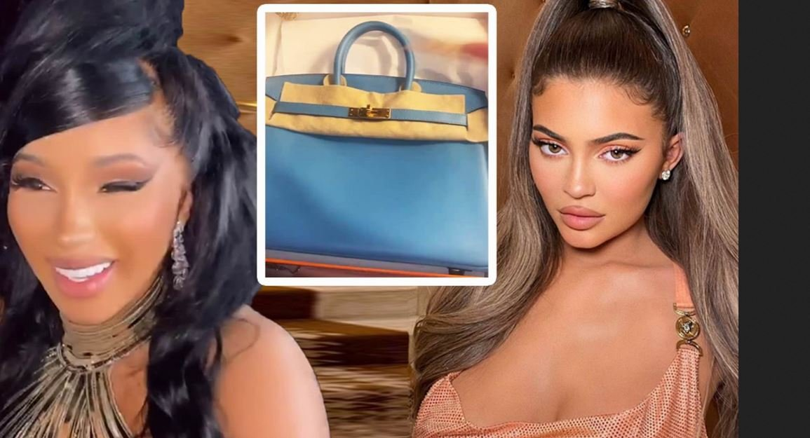 Kylie Jenner Gifts Rapper, Cardi B A Birkin Bag For Her 28th Birthday