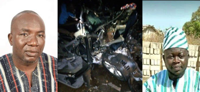 NPP Parliamentary candidate for Yapei Kusowgu dies in a car crash (Photos)