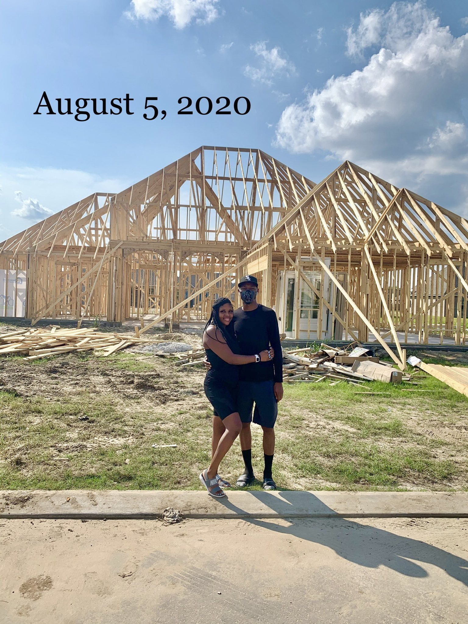 Adorable Couple Move Into New Home They Started Building In May (Photos)