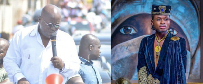I'll gladly do a campaign song for Nana Akuffo Addo – Kuami Eugene