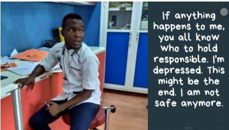 Frustrated Nigerian Nurse Goes Missing After Threatening To Take His Life On Social Media (Photo)