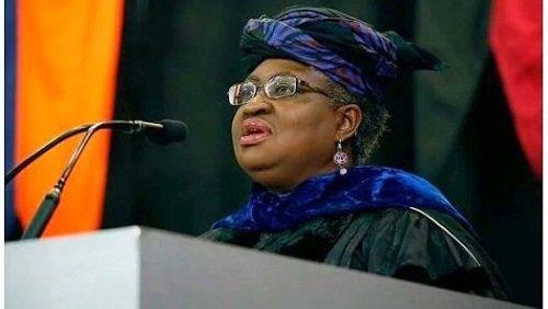 WTO DG: Buhari, Okonjo-Iweala Meet Inside Aso Rock