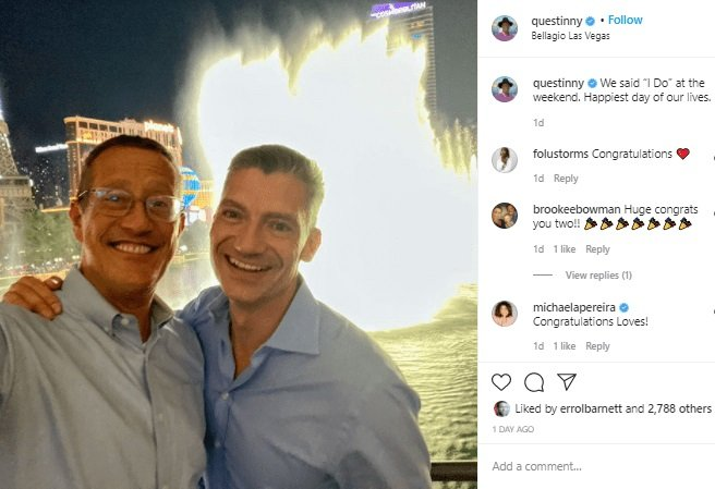 CNN's Richard Quest Weds Longtime Male Partner (Photo)