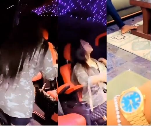 Too Much Money! Regina Daniels' Husband Ned Gifts Her A Car And 24 Million Naira Watch For Her Birthday