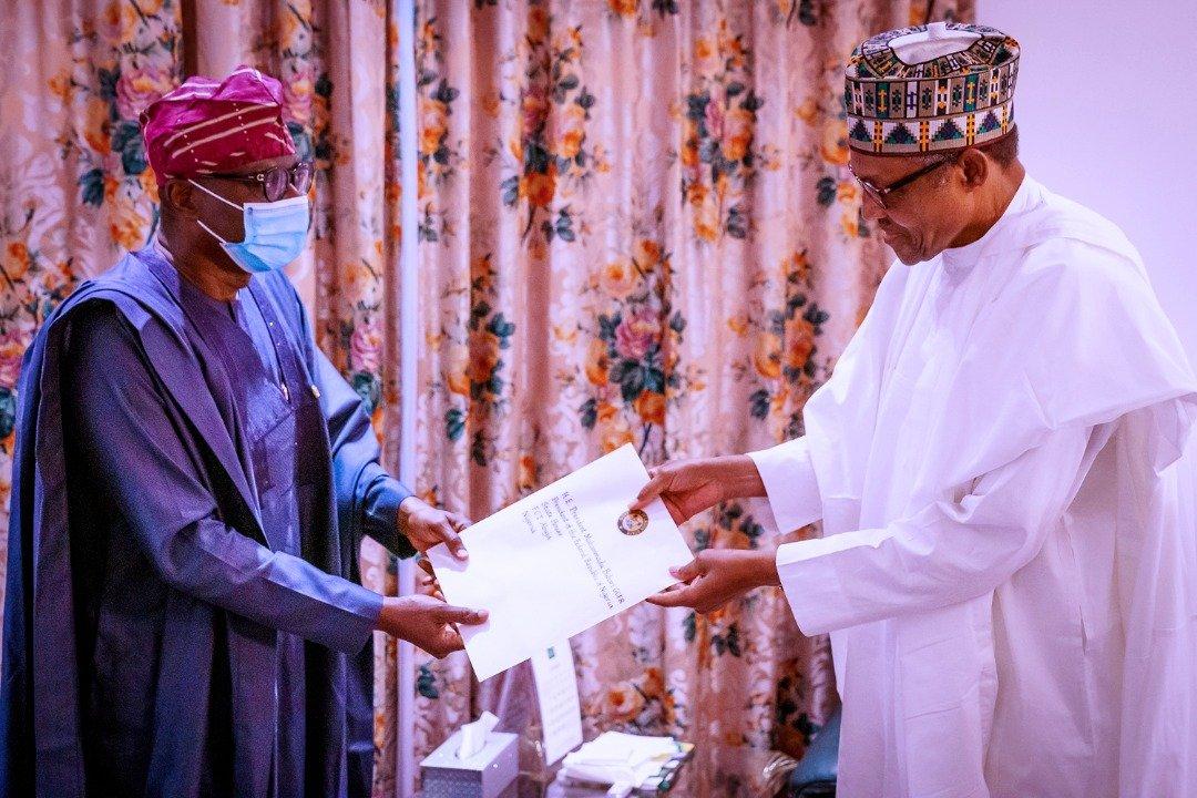 #EndSARS: Sanwo-Olu Meets Buhari, Reveals What He Told the President
