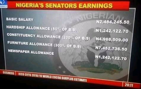 """""""The Masses Need To Wake Up, Our Mumu Don Too Much"""" – Nigerians Begin Protest Over Senators' Huge Allowances"""
