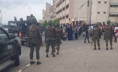 Nigerian Soldiers Reportedly Kill Five Protesting Secondary School Students In Taraba