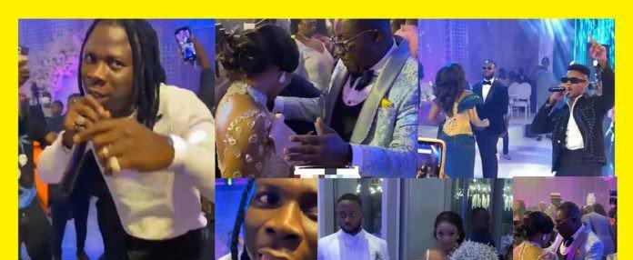 #Ciri2020: Stonebwoy & Kidi perform at Dr Ernest Ofori Sarpong daughter's wedding