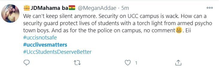 #UCClivesmatters-Students protest for better campus security