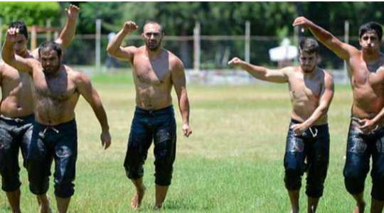 OIL WRESTLING!! See Why Turkish Men Engage In This Kind Of Wrestling!