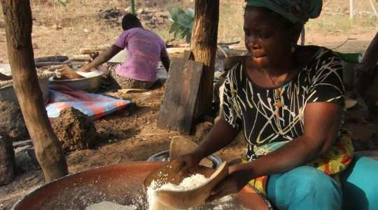 IRRESISTIBLE! See The Aja People Of Yoruba Origin From Togo Who Make Mouthwatering Delicacies With Yam