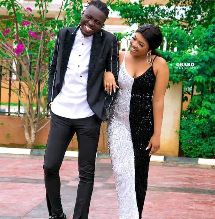 Akpororo and wife celebrate 5th wedding anniversary with lovely photos