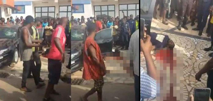 Another Kumasi Shooting; Driver shoots man thrice and killed him  on seeing police