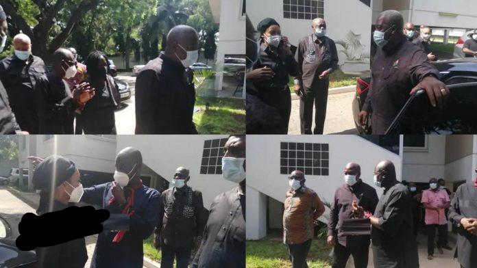 Mahama & NDC gurus who visited Nana Konadu refused access to condolence book for Rawlings