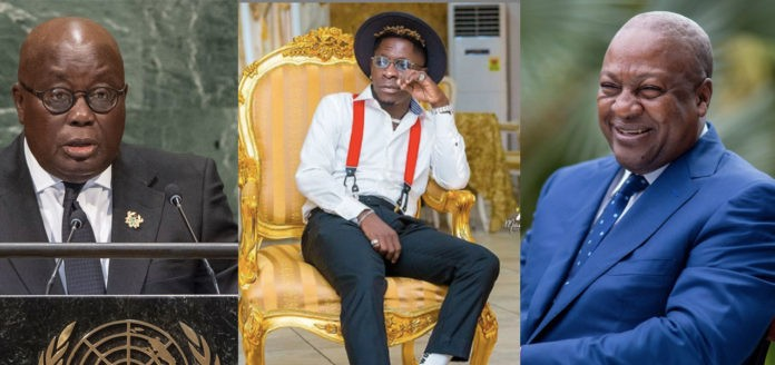 Election 2020: Shatta Wale names the political party he is  vouching for