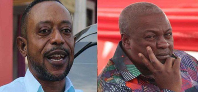 John Mahama will never be President,over my dead body  – Rev Owusu Bempah
