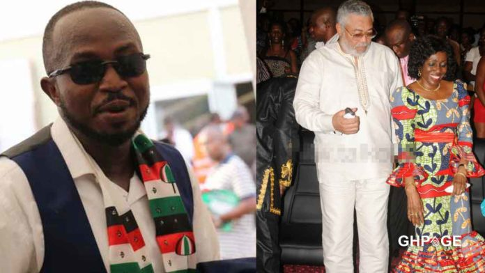 Nana Konadu didn't treat Rawlings right, reason why he died early – Stephen Atubiga reveals